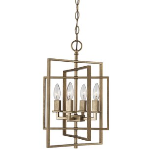 Yarnell 4 Light Foyer Pendant