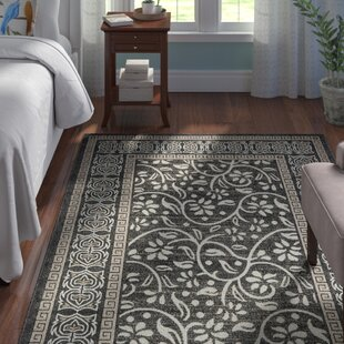 Caesar Black Indoor/Outdoor Area Rug
