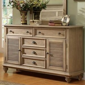 Margate 5 Drawer Combo Dresser