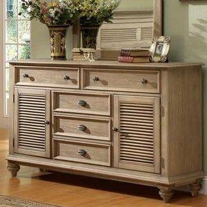 Quevillon 5 Drawer Combo Dresser by Lark Manor