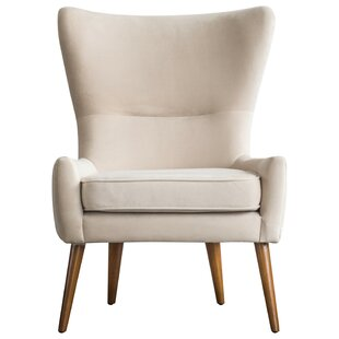 Alberto Wingback Chair by Langley Street