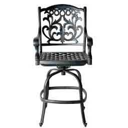 One Allium Way Pyxis Patio Bar Stool