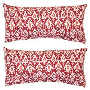 Jacobs Ikat Outdoor Lumbar Pillow (Set Of 2)