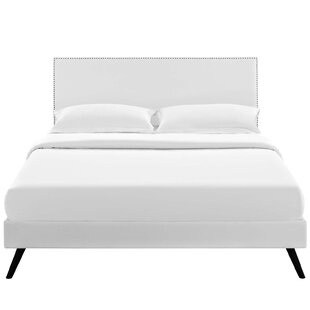 Hervey Upholstered Platform Bed by Charlton Home #2