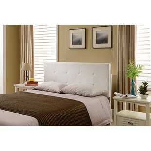 Avins Queen Upholstered Panel Headboard by House of Hampton