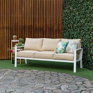 Mcclellan Outdoor Patio Sofa with Cushions
