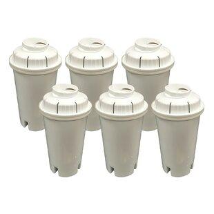 Crucial Brita Refrigerator/Icemaker Water Purifier Filter (Set of 6)