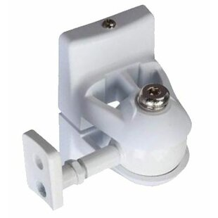 Universal Speaker Wall Mount in White by Pinpoint Mounts