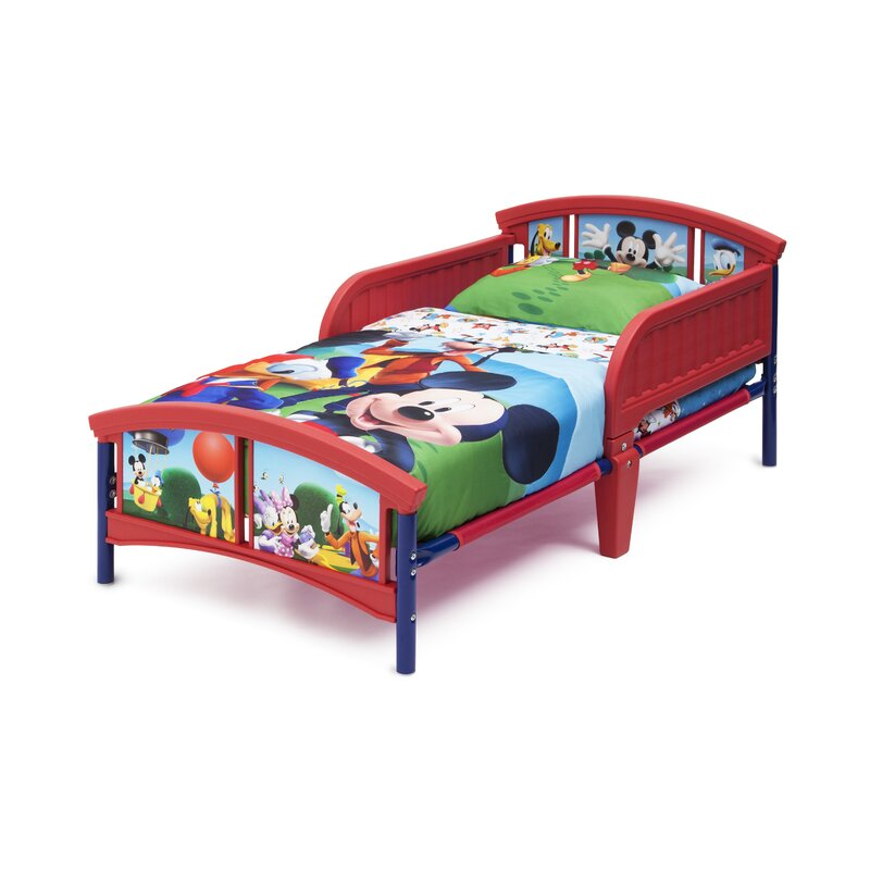 Mickey Mouse Bed: Racer Toddler Mickey Mouse Sheets At Alzheimers-prions.com