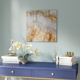 Oliver Gal 'Adore Gold Abstract Art Print' by Willa Arlo Interiors