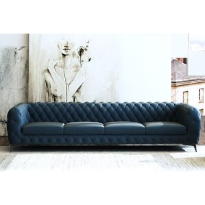 Vennie Chesterfield Sofa by Everly Quinn
