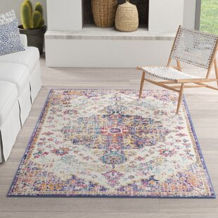 Hillsby Gold Purple Area Rug