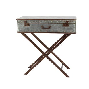 Laforce Rustic Iron Box End Table