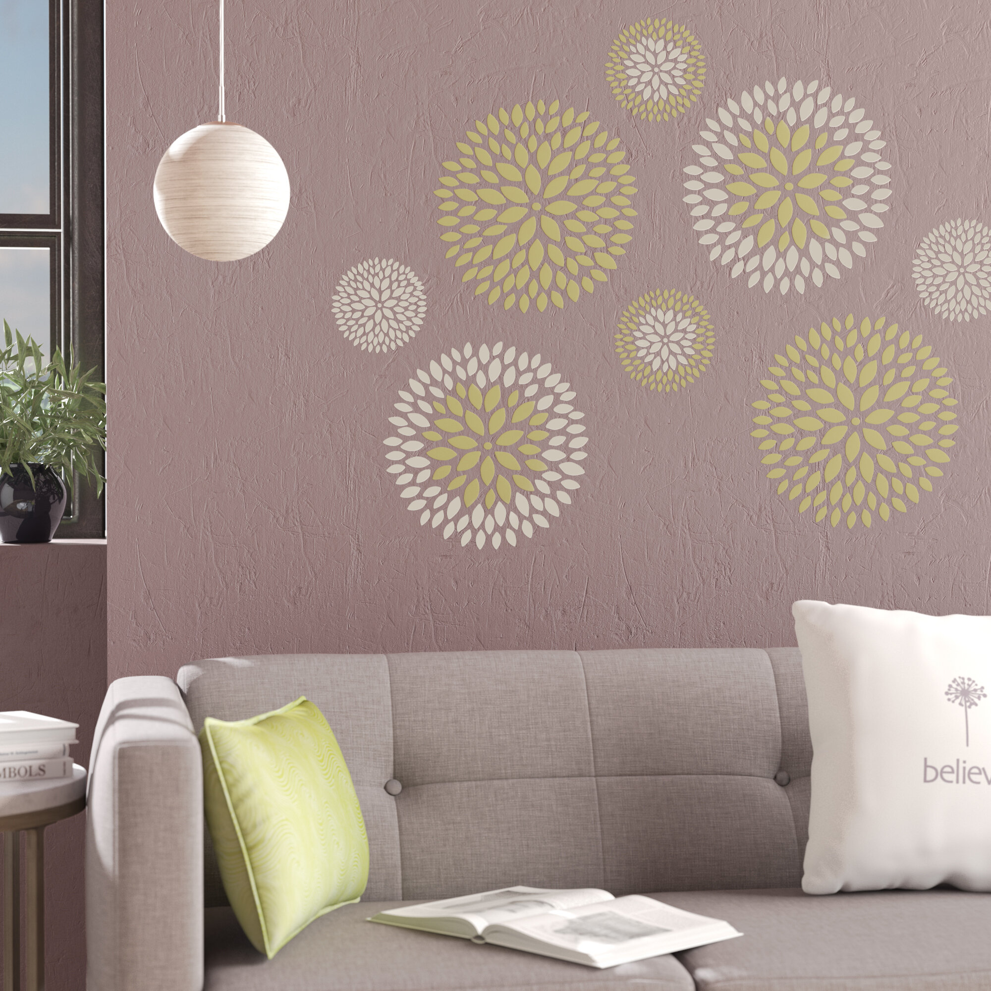 Ellettsville 8 Piece Large Wall Decal Set