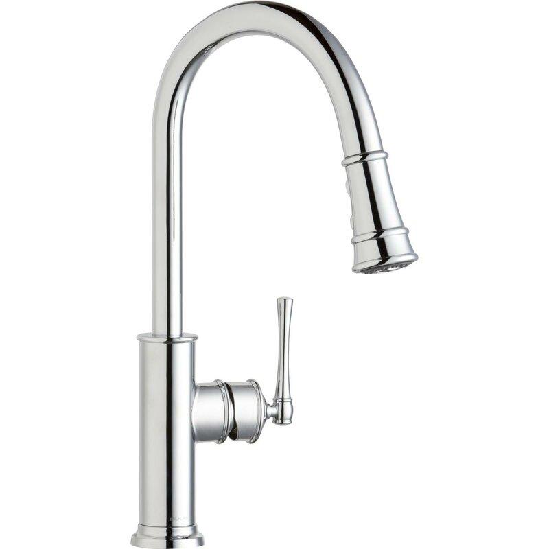 Explore Pull Down Single Handle Kitchen Faucet