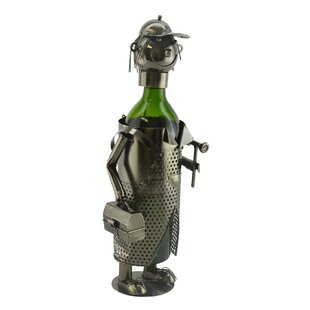 Handy Man 1 Bottle Tabletop Wine Rack