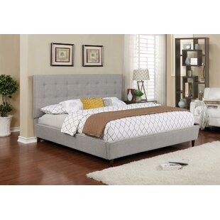 Winston Porter Burkeville Upholstered Panel Bed