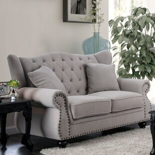 Sharron Tufted Loveseat
