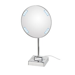 Shopping for Mirror Pure Discololed Magnifying Cosmetic Mirror with Lighting By WS Bath Collections