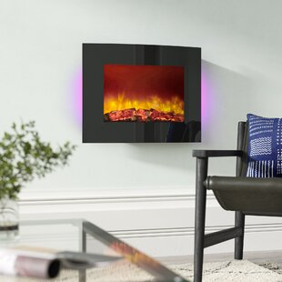 Quattro Electric Fireplace By BeModern