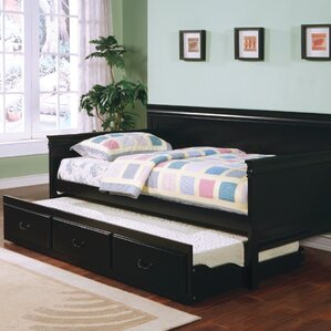 Oswald Daybed with Trundle by Darby Home Co Image