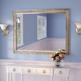 Darby Home Co Curren Vintage Silver Wall Mirror