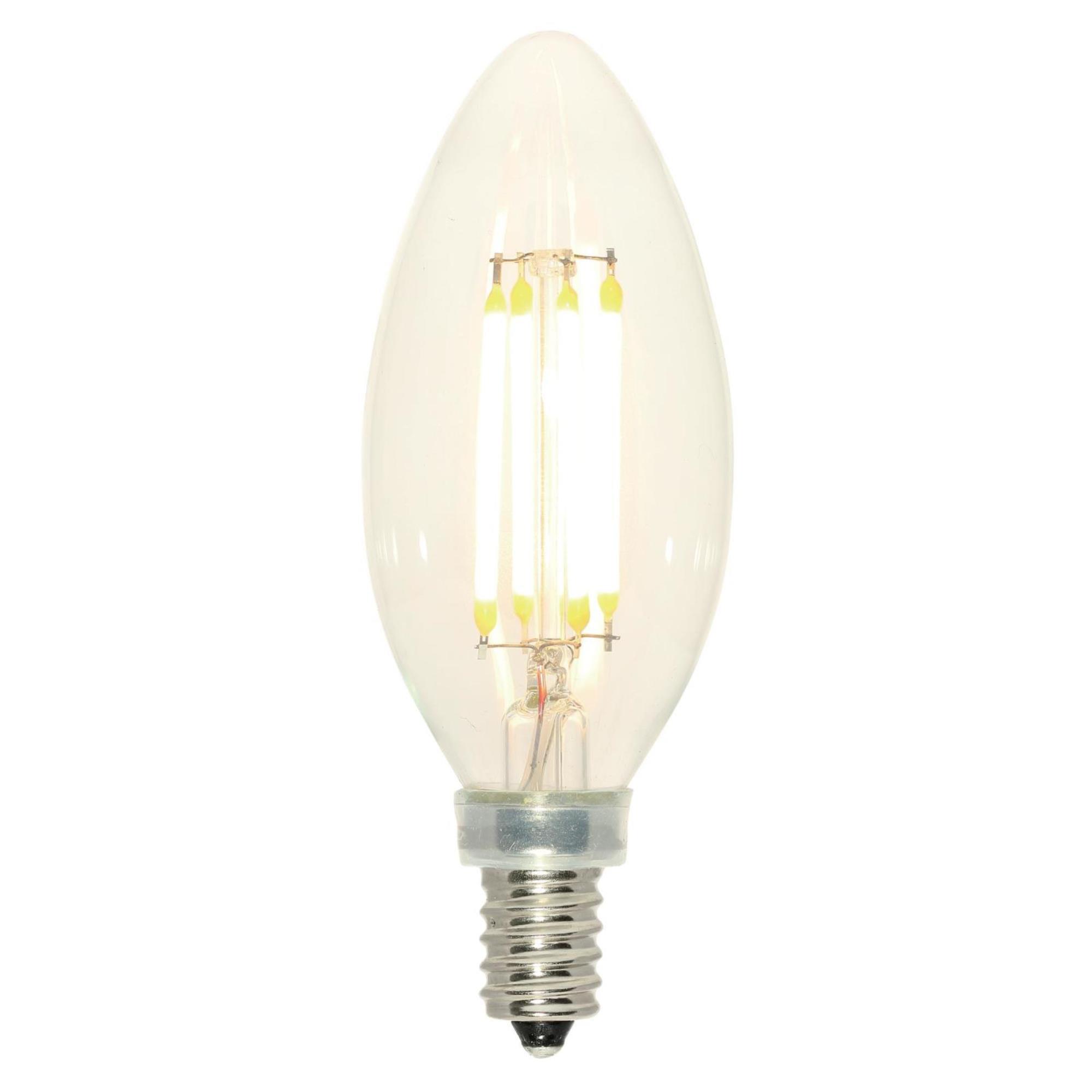 5061100 4 Watt E12 Dimmable Led Edison Candle Light Bulb