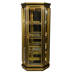 Lighted Curio Cabinet by Three Star Im/Ex Inc.
