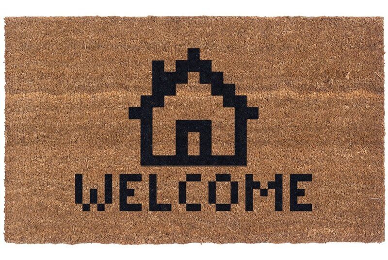 Winston Porter Mescal Welcome Home 30 In X 18 In Non Slip Outdoor Door Mat Reviews Wayfair