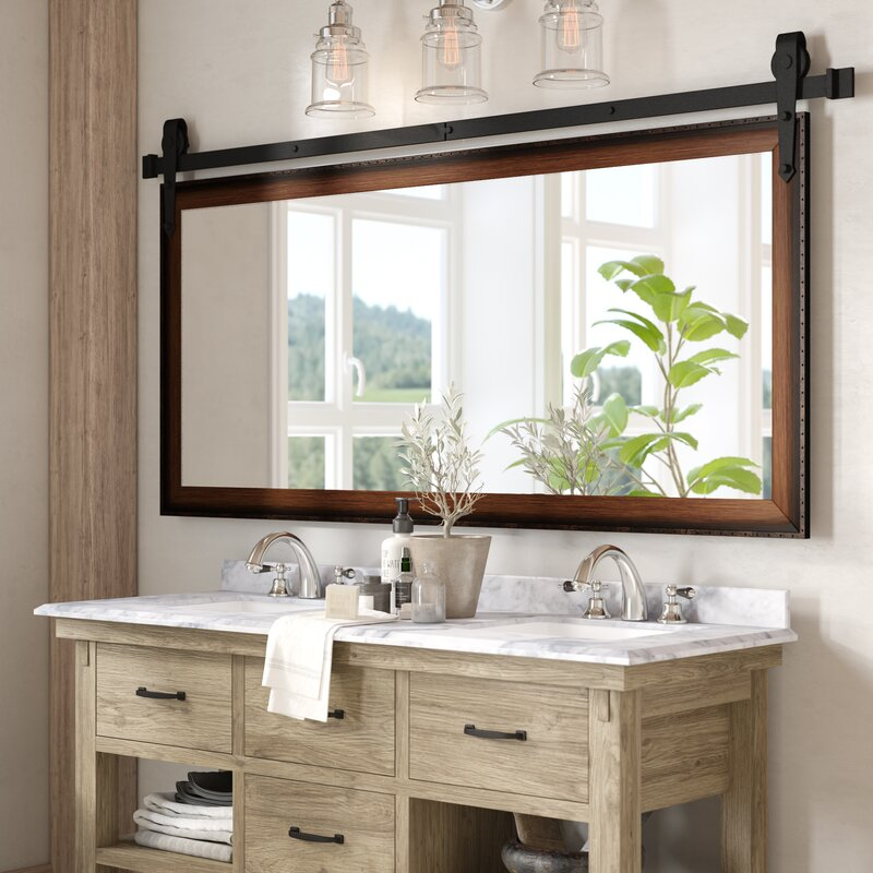 Laurel Foundry Modern Farmhouse Abraham Bathroom Vanity Mirror Reviews
