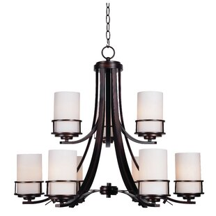 Darby Home Co Layfield 9-Light Shaded Chandelier