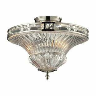 Aubree Collection 2 Light Semi-Flush Mount by Elk Lighting