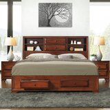 Beagan King Platform Solid Wood 4 Piece Bedroom Set by Winston Porter