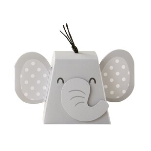 Elephant Favor Box (Set of 12)