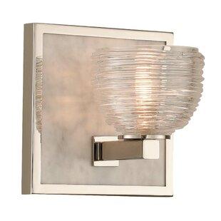 Kalco Bianco 1-Light LED Bath Sconce