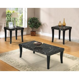 Vizzapu Coffee and End Table Set (Set of 3)