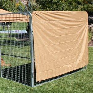 Basic Heavy Duty Yard Kennel Side Cover
