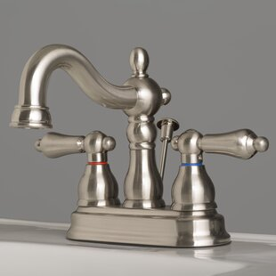 Check Prices Centerset Bathroom Faucet with Drain Assembly ByLaguna Brass