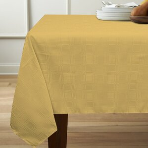 Sellers Geometric Spill Proof Fabric Tablecloth