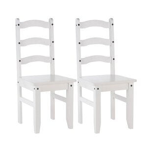 Terrill Solid Wood Dining Chair (Set Of 2) By Brambly Cottage