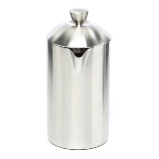 Brushed Stainless Steel French Press by Frieling Great Reviews