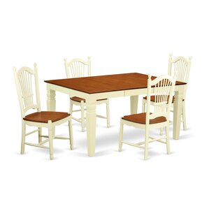 Belcourt 5 Piece Dining Set by Darby Home Co