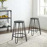 Gabriele 23.88 Bar Stool (Set of 2) by Canora Grey