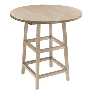 Melodi Kratochvil Plastic Bistro Table by Highland Dunes Cheap