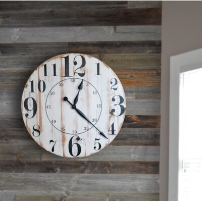 Erdmann Wall Clock August Grove Size Extra Large On Wayfair North America Ibt Shop