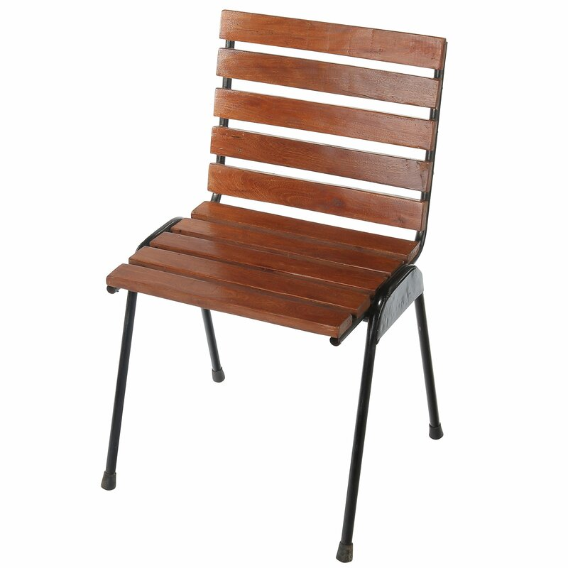 Cofield Wood Slat Side Chair