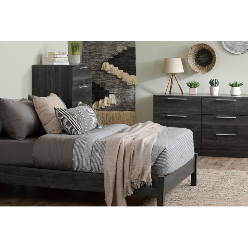 South Shore Step One Essential Platform Configurable Bedroom Set