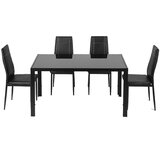 Napolitano 5 - Piece Dining Set by Ivy Bronx