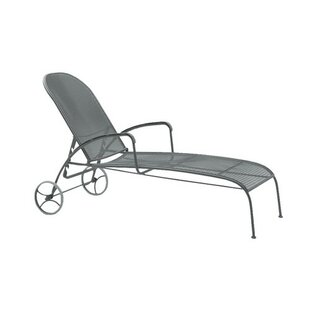 Valencia Reclining Chaise Lounge by Woodard