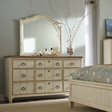 Millbrook 9 Drawer Dresser with Mirror by Panama Jack Home
